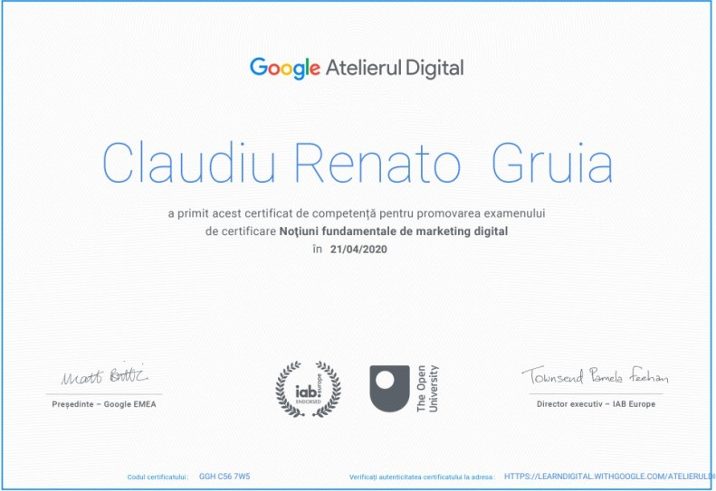 certificat-google-atelierul-digital-consultanta-marketing-online-gruia-claudiu-renato
