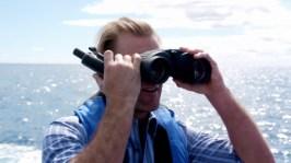 15. Danny stealing Willy Wonka's binoculars