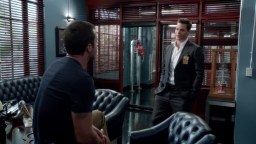 Little prick, he knew damn well that Cath hadn't told McG about thinking of leaving the Navy. Don't trust him Steve!!!
