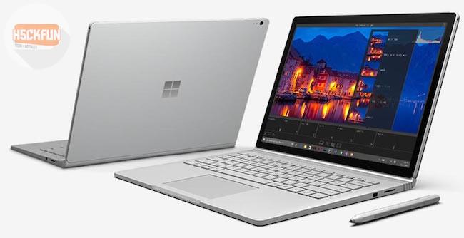 Surface Book conférence de microsoft