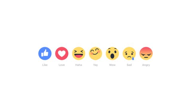facebook option like