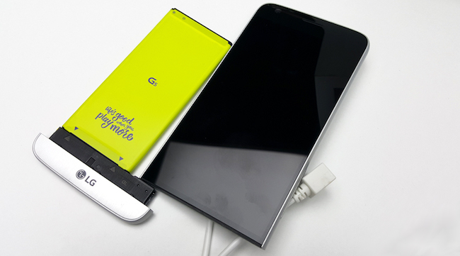 LG G5 batterie amovible