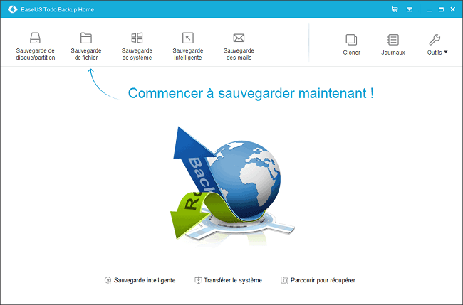 sauvegarder systeme windows 10
