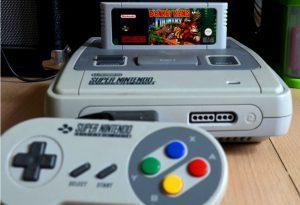 La console Super Nintendo