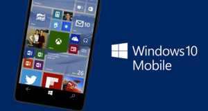 Microsoft est en train d'améliorer Windows 10 Mobile pour ses prochains dispositifs