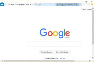 Navigation par onglets sur Internet Explorer 11