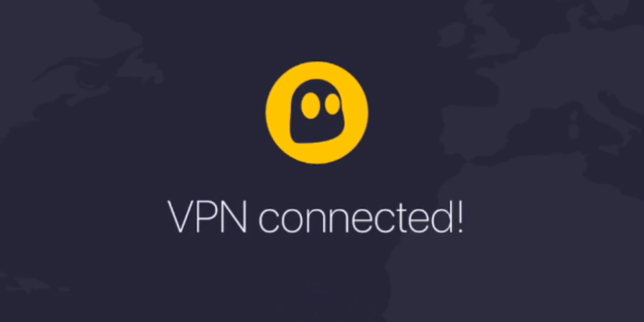 Cyberghost, VPN connected