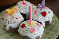 Haakpatroon Cupcake met Glazuur