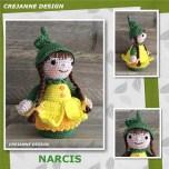 Haakpatroon Narcis Popje
