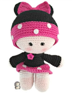Haakpatroon Minnie Poppetje
