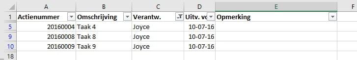 Filters (simpele tabel, gefilterd)