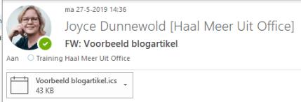 mail ontvanger_haal meer uit office