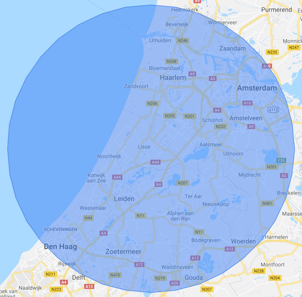 Gratis bezorging regio - Haardhouttoppers.nl