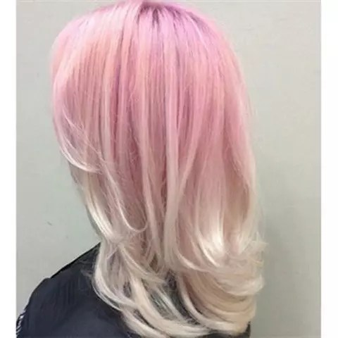 30 Wunderschne Frisuren Mit Rosa Haarfarben