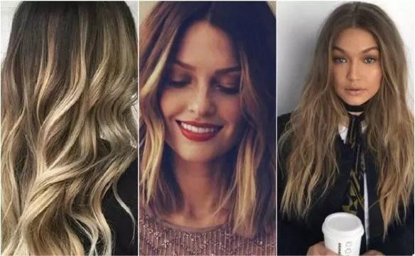 50 Stilvolle Vorschlge Fr Braune Haare Mit Blonden Strhnen