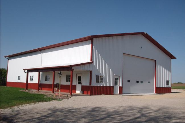 Post Frame Ag Storage Building
