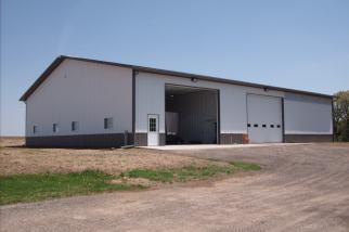 Ag Post Frame Building with Workshop