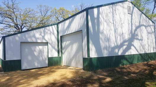 Ag Post Frame Storage Shed