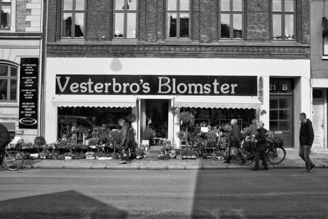 the local florist from the vesterbro neighborhood in odense