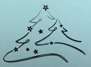 Weihnachtsbaum - Weihnachtsfeier der BAH