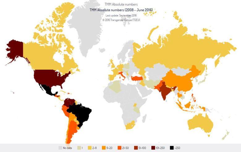 Bildnachweis: http://transrespect.org/en/map/trans-murder-monitoring/#