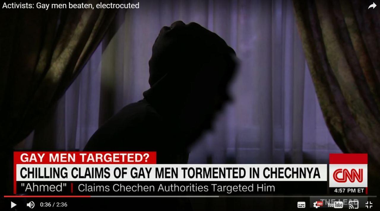 CNN befragte zwei Zeugen der Verfolgung zur Lage in Tschetschenien.