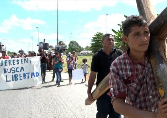 Viacrucis migrante – Kreuzweg der Migrant_innen