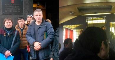 В Москве задержаны протестующие трудовые мигранты из Центральной Азии