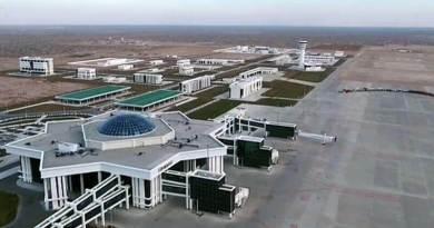 Аэропорт в Туркменистане попал в Книгу рекордов Гиннеса