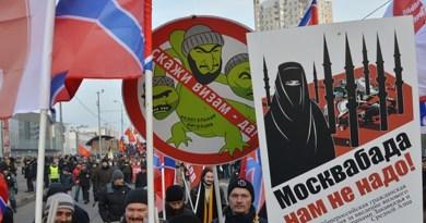 30% россиян против Центрально-Азиатских приезжих