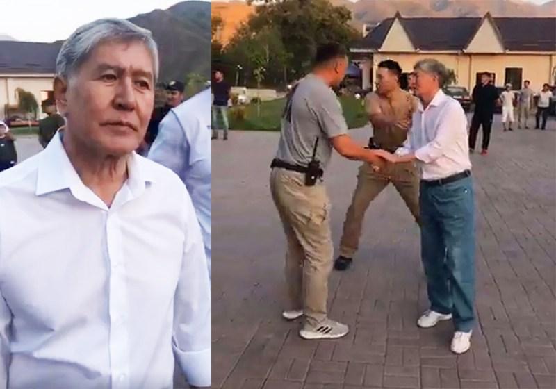 Кыргызстан: спецназ ГКНБ штурмует дом Атамбаева
