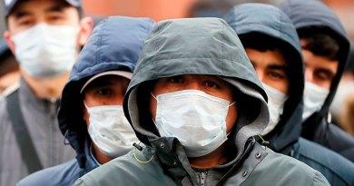 Россия: сотни трудовых мигрантов заражены COVID-19