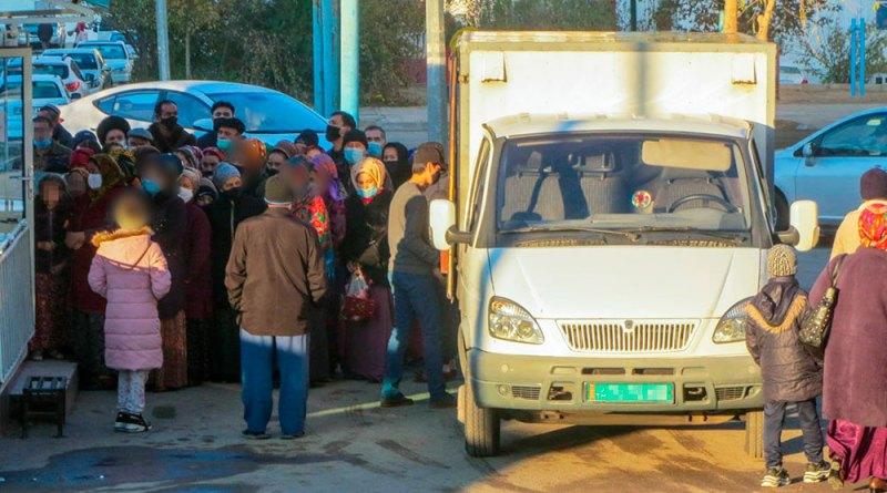 Дефицит хлеба в Туркменистане