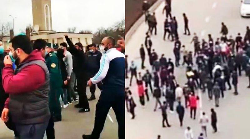 В центре Ташкента прозвучали такбиры