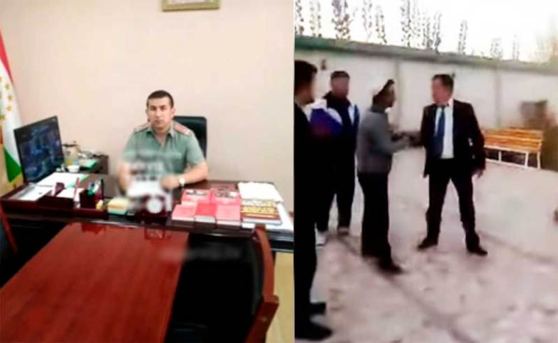 Комиссар Шохмансура избил подчиненного