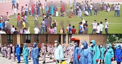 """Таджикистан: новая волна коронавируса и """"маршировки"""""""