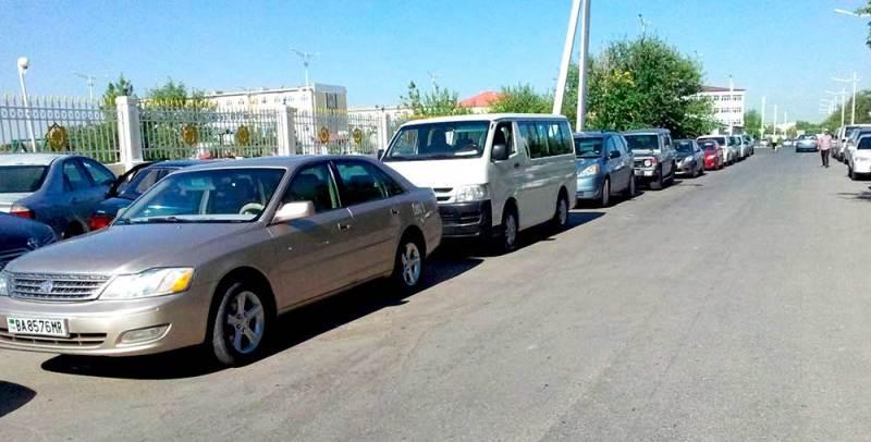 Туркменистан: конфискация авто у граждан