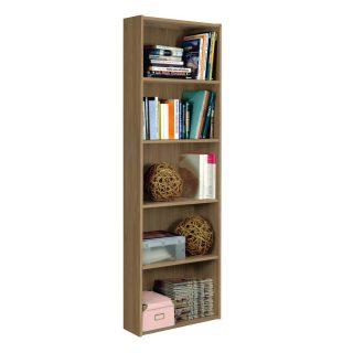 Libreria in legno 5 vani EL01