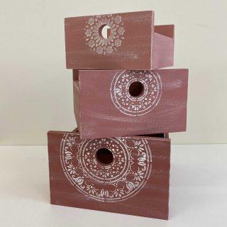 Cassettine portaoggetti Matriosca