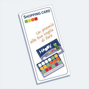Shopping Card HABBY, Un premio alla voglia di fare