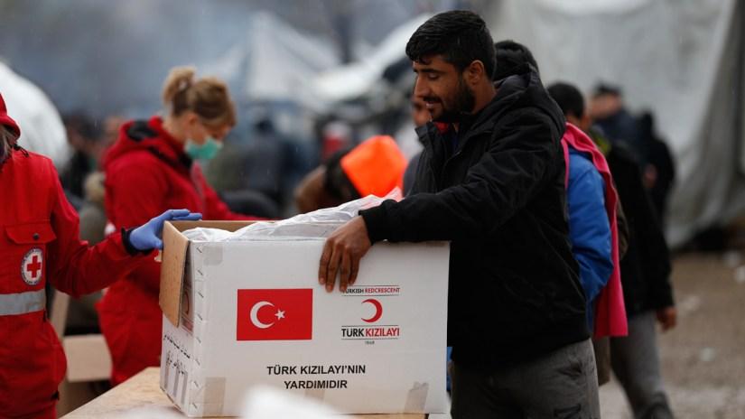 Türk Kızılay, Bosna Hersek'teki 'Vucjak' krizini çözmek istiyor