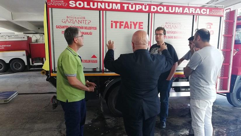 KOÜ akademisyenleri 'Türk itfaiyesinin röntgeni'ni çekti