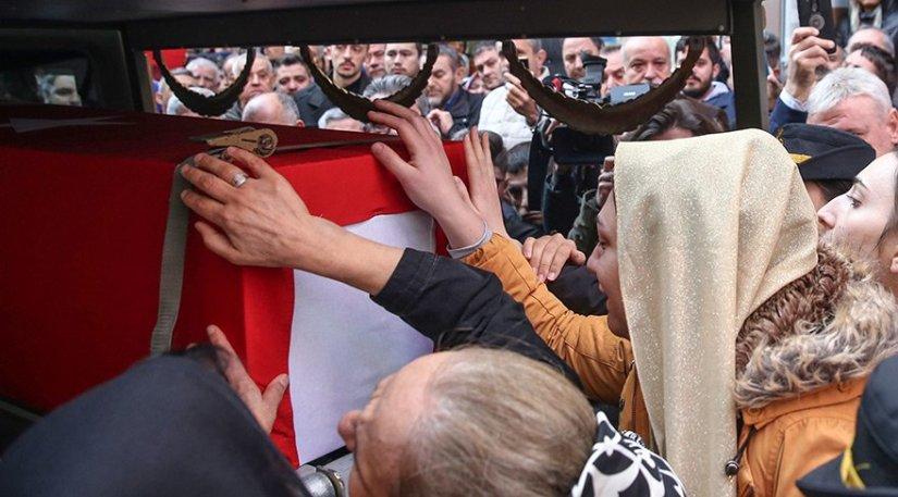 Şehit PAMİT komutanı Esma Çevik son yolculuğuna uğurlanıyor
