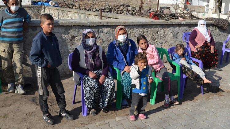 Aksaray'da koyunları telef olan aileye valilik sahip çıktı