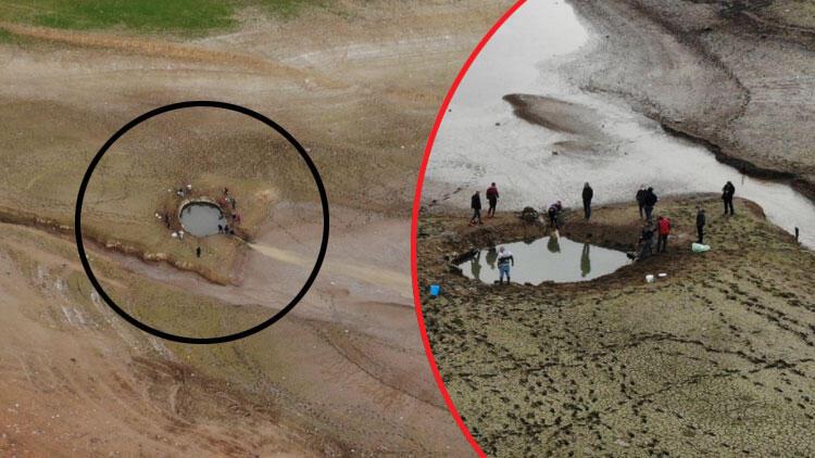 Ömerli Barajı'ndaki yavru balıklar için harekete geçtiler! Yürek sızlatan görüntü...