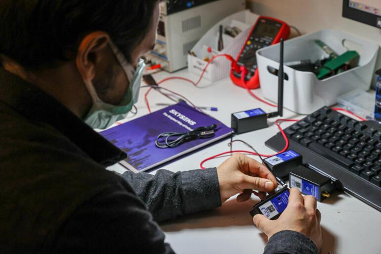 Tek kalem pille 10 yıl çalışabilen sensör modülü geliştirildi