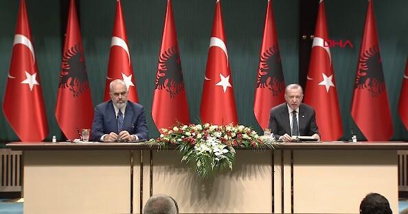 Cumhurbaşkanı Erdoğan duyurdu: İmzalar atıldı! Türkiye-Arnavutluk ilişkilerinde kritik anlaşma