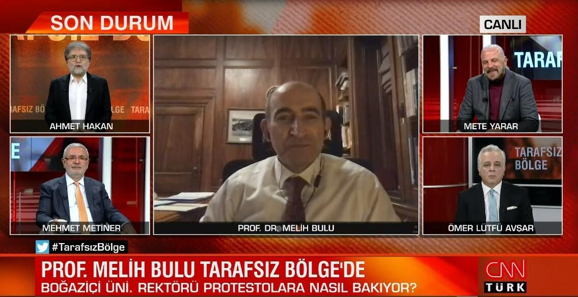 Prof. Dr. Melih Bulu'dan CNN TÜRK'te çarpıcı sözler