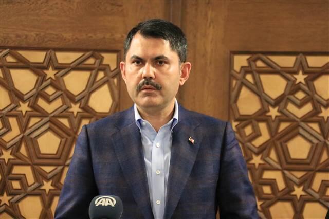 Bakan Kurum'dan CHP'li Öztunç'un sözlerine tepki