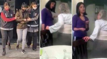 Yaşlı kadına şiddet olayında yeni gelişme Bakıcı gözaltına alındı...